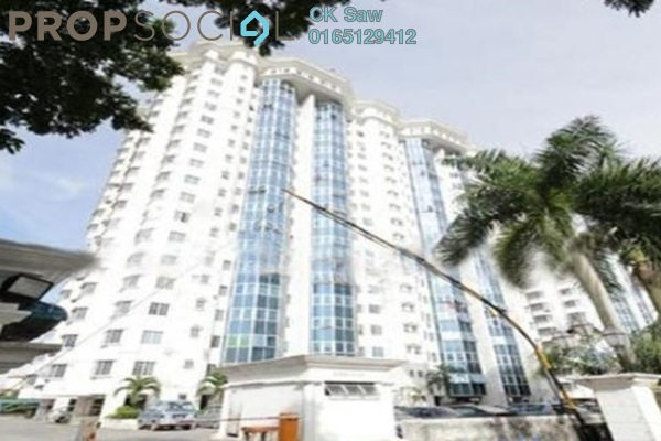 For Rent Condominium at Heritage, Setapak Freehold Fully Furnished 3R/2B 1.4k