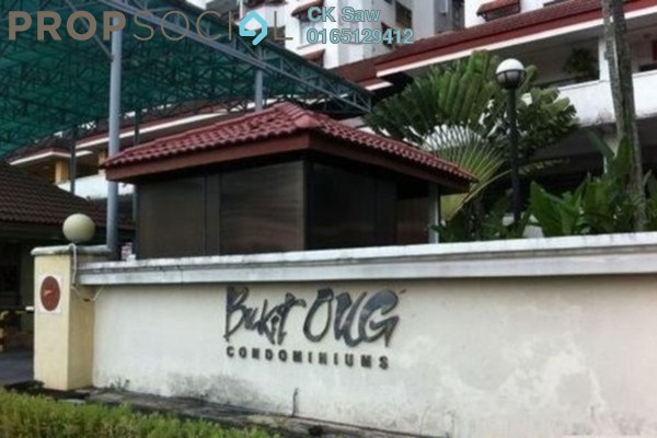 For Rent Condominium at Bukit OUG Condominium, Bukit Jalil Freehold Semi Furnished 3R/2B 1.4k