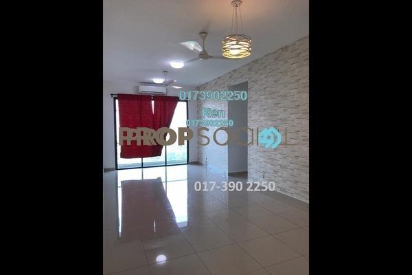 For Rent Condominium at USJ One Park, UEP Subang Jaya Freehold Semi Furnished 4R/3B 1.7k