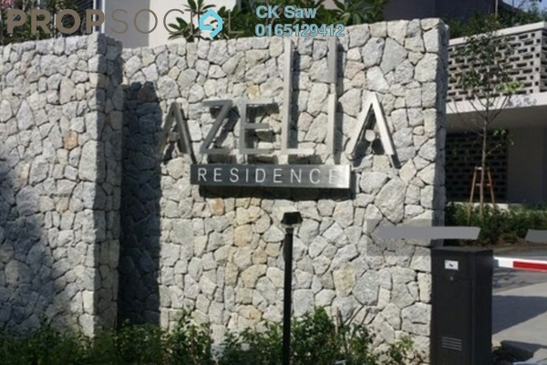 For Rent Condominium at Azelia Residence, Bandar Sri Damansara Freehold Semi Furnished 1R/1B 1.45k