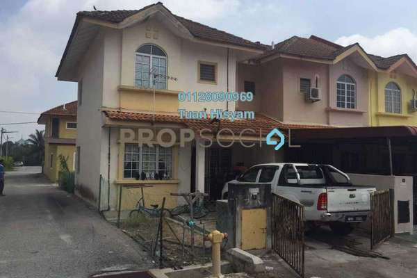 For Sale Terrace at Taman Malawati Jaya, Kuala Selangor Freehold Unfurnished 4R/2B 235k