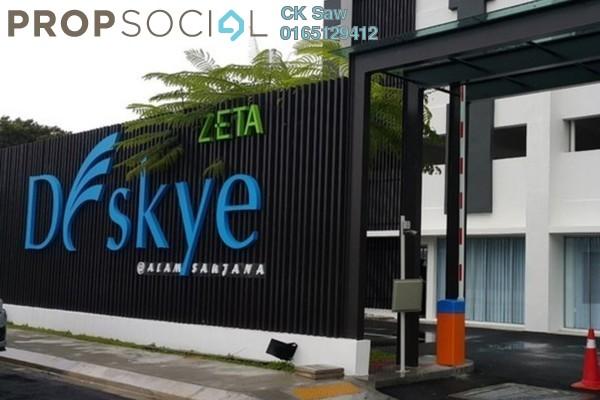 For Rent Condominium at DeSkye Residence, Jalan Ipoh Freehold Semi Furnished 3R/2B 1.6k