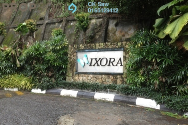 For Rent Apartment at Ixora Apartment, Kepong Freehold Fully Furnished 3R/2B 1.4k