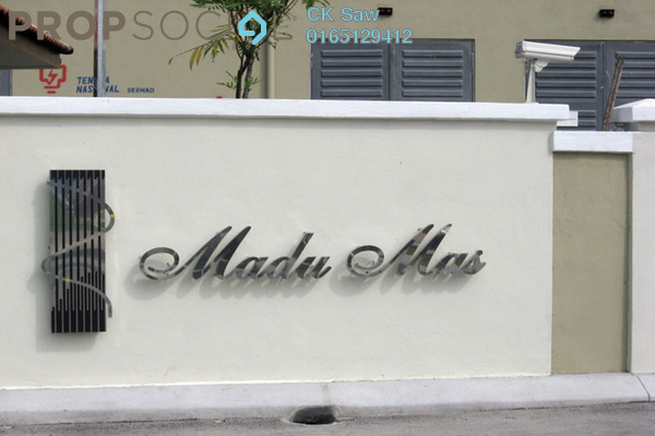 For Rent Condominium at Madu Mas, Setapak Freehold Semi Furnished 4R/2B 1.4k