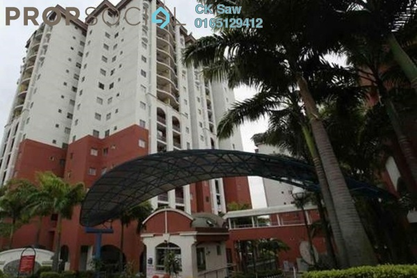 For Rent Condominium at Ketumbar Hill, Cheras Freehold Fully Furnished 2R/2B 1.25k