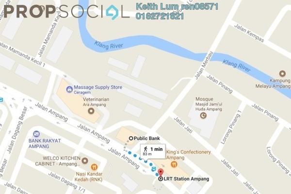 For Sale Land at Arte +, Jalan Ampang Freehold Unfurnished 0R/0B 660k