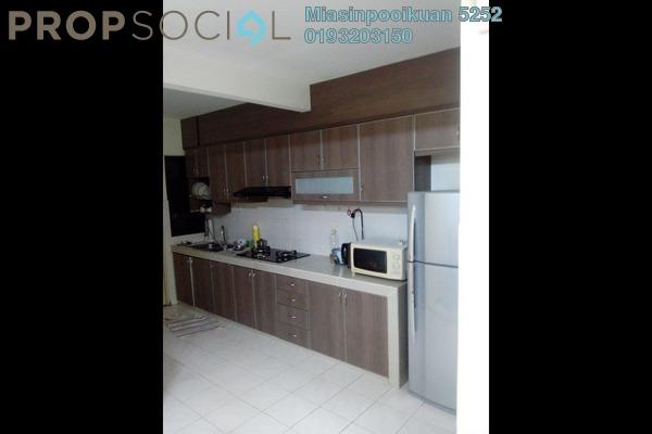 For Rent Condominium at Putra Villa, Gombak Freehold Semi Furnished 3R/2B 1.7k