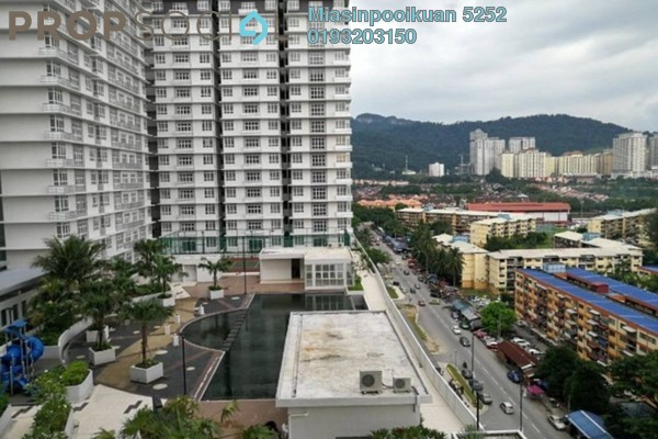 For Rent Serviced Residence at M3 Residency, Gombak Freehold Semi Furnished 4R/3B 1.6k