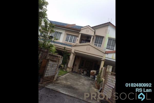 For Sale Terrace at BP10, Bandar Bukit Puchong Freehold Semi Furnished 4R/3B 650k