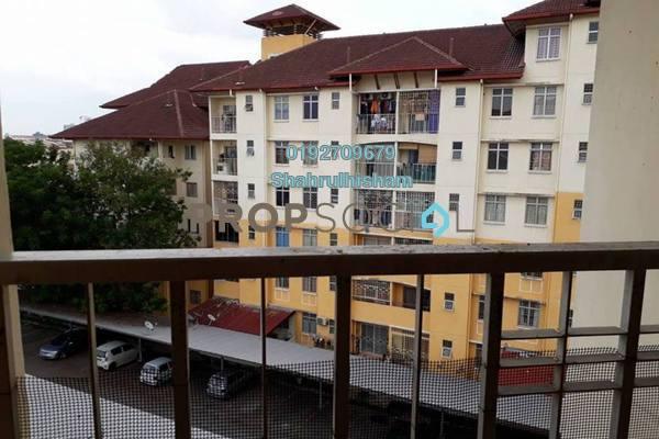 For Sale Apartment at Bayu Villa, Klang Freehold Unfurnished 3R/2B 280k