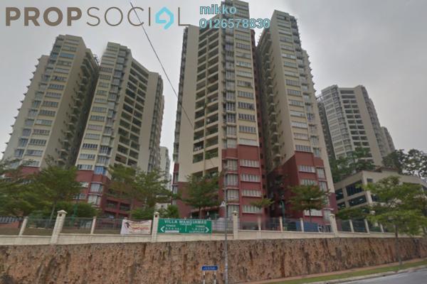For Sale Condominium at Villa Wangsamas, Wangsa Maju Freehold Semi Furnished 4R/3B 413k