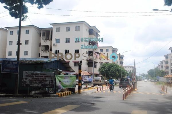 For Sale Apartment at Puchong Utama Court 1, Bandar Puchong Utama Freehold Semi Furnished 3R/2B 192k