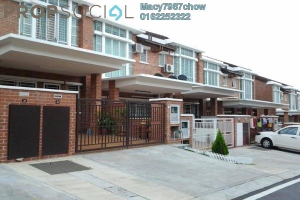 For Sale Terrace at Palm Walk, Bandar Sungai Long Freehold Unfurnished 4R/4B 730k