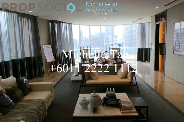 For Sale Condominium at The Oval, KLCC Freehold Semi Furnished 3R/4B 3.84m