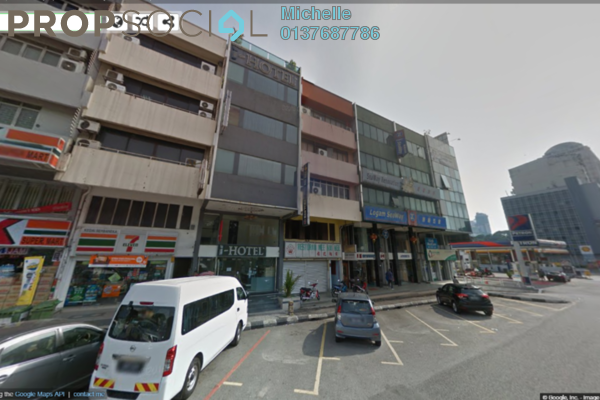 For Sale Shop at Kampung Attap, Brickfields Freehold Fully Furnished 5R/5B 3m