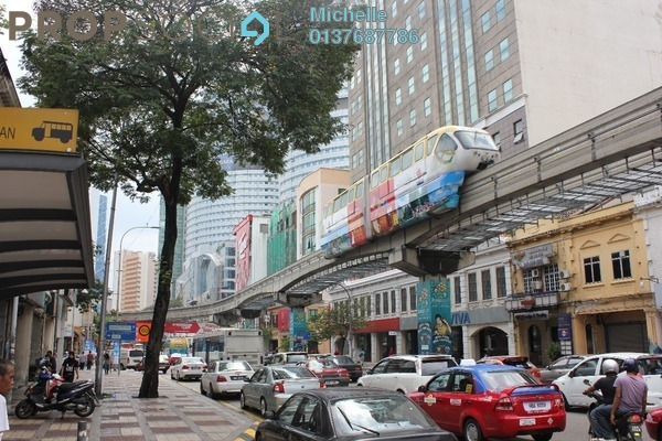 For Sale Shop at Jalan Tuanku Abdul Rahman, Chow Kit Freehold Fully Furnished 7R/7B 46.5m