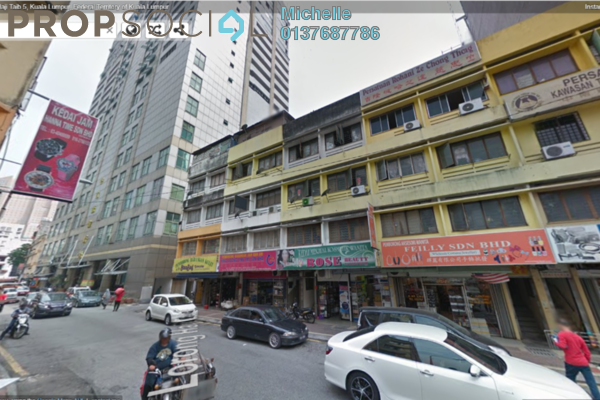 For Sale Shop at Plaza GM, Chow Kit Freehold Fully Furnished 4R/4B 2.4百万