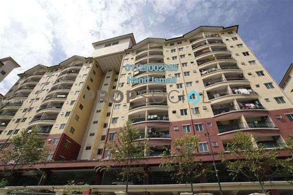 For Sale Apartment at Mandy Villa, Segambut Leasehold Semi Furnished 3R/2B 350k