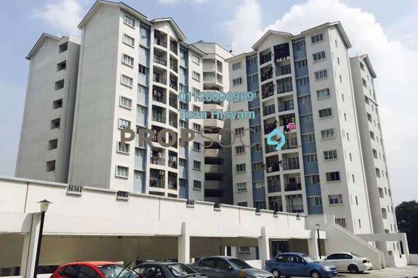 For Sale Condominium at Nusa Mewah, Cheras Freehold Semi Furnished 3R/2B 350k