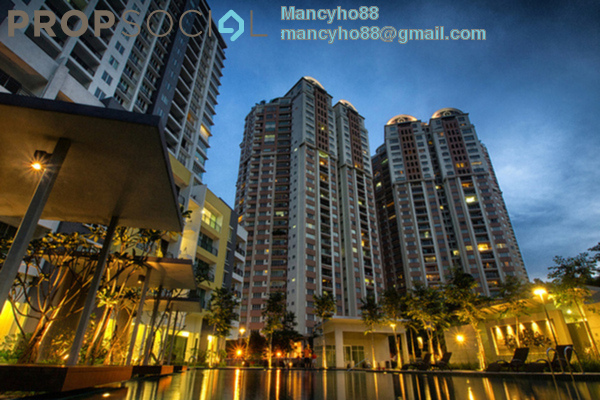 For Sale Condominium at The Boulevard, Subang Jaya Freehold Semi Furnished 3R/3B 890k