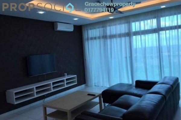 For Rent Serviced Residence at Sky Loft, Bukit Indah Freehold Fully Furnished 3R/1B 2.88k