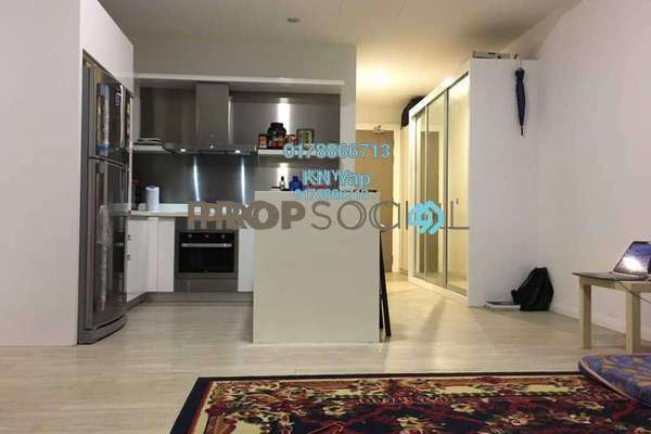 For Sale SoHo/Studio at M City, Ampang Hilir Freehold Semi Furnished 1R/1B 588k