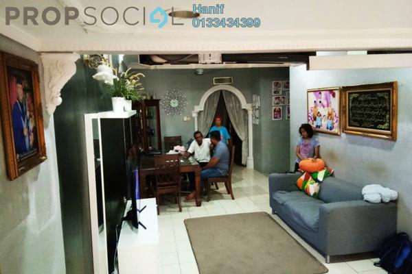 For Sale Terrace at Taman Sri Keramat Tengah, Wangsa Maju Leasehold Semi Furnished 3R/2B 600k