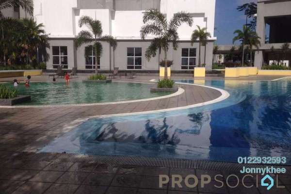 For Rent Condominium at Symphony Heights, Selayang Freehold Fully Furnished 3R/3B 2k