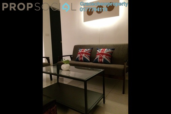 For Rent Serviced Residence at Setia Sky 88, Johor Bahru Freehold Fully Furnished 2R/2B 2.68k