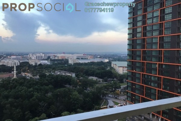 For Rent Serviced Residence at Palazio, Tebrau Freehold Fully Furnished 0R/1B 1.28k