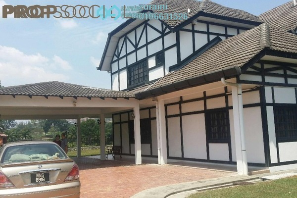 For Sale Bungalow at SL8, Bandar Sungai Long Freehold Semi Furnished 7R/6B 3.55m
