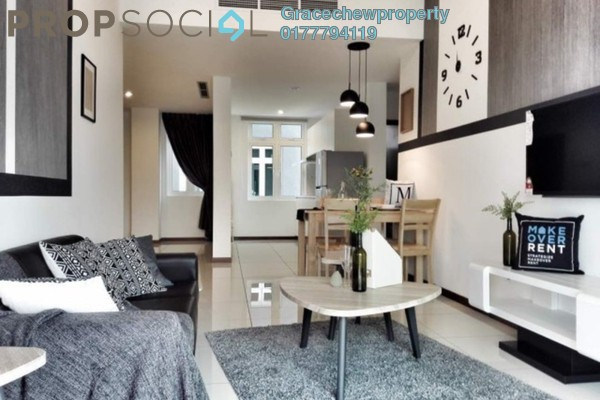 For Rent Serviced Residence at Grandview 360º, Tebrau Freehold Fully Furnished 2R/2B 2.58k