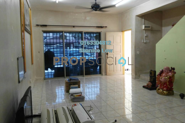 For Sale Terrace at PP 5, Taman Putra Prima Freehold Semi Furnished 3R/3B 475k