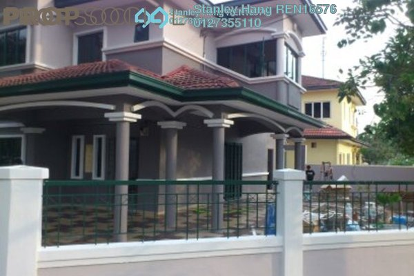 For Sale Terrace at Taman Puchong Prima, Puchong Freehold Semi Furnished 4R/3B 850k