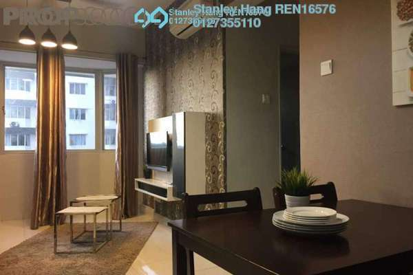 For Rent Serviced Residence at Main Place Residence, UEP Subang Jaya Freehold Fully Furnished 2R/1B 2k