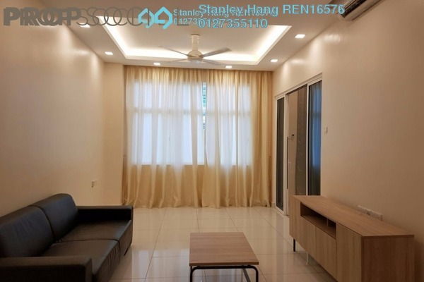 For Rent SoHo/Studio at Skypod, Bandar Puchong Jaya Freehold Fully Furnished 1R/1B 1.6k