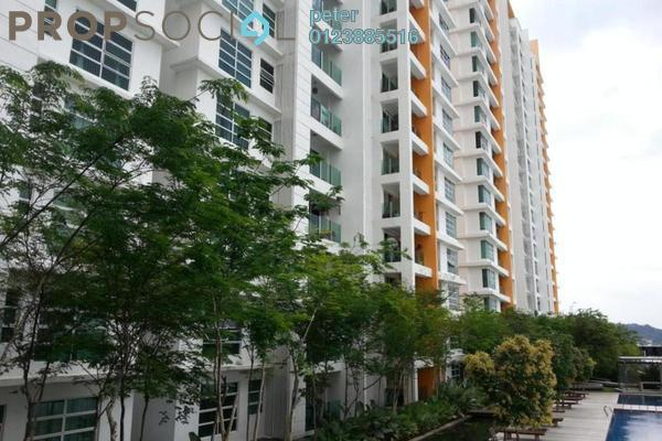 For Sale Condominium at The Zest, Bandar Kinrara Freehold Semi Furnished 3R/2B 635k
