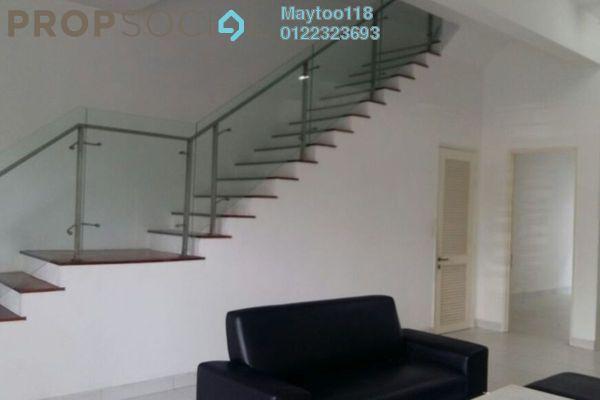 For Rent Terrace at Quartz Villa, Bandar Mahkota Cheras Freehold Semi Furnished 5R/4B 1.9k