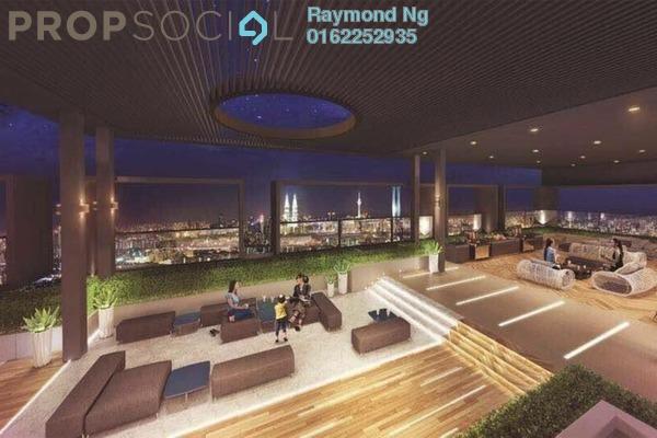 For Sale Condominium at Taman Segambut, Segambut Freehold Semi Furnished 3R/2B 473k