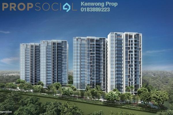 For Sale Condominium at Ascotte Boulevard, Semenyih Freehold Semi Furnished 3R/2B 349k