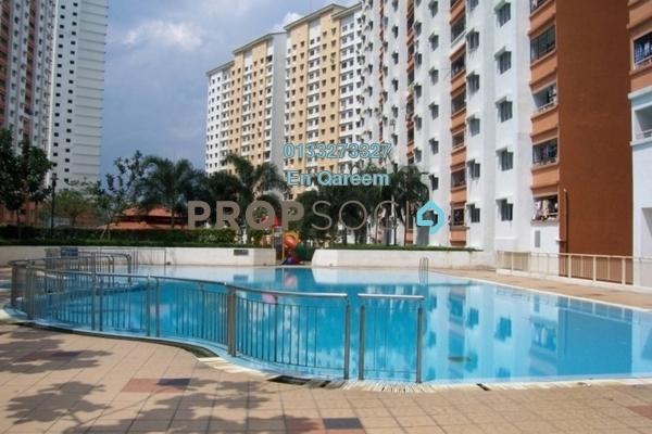 For Sale Apartment at Flora Damansara, Damansara Perdana Freehold Semi Furnished 3R/1B 210k
