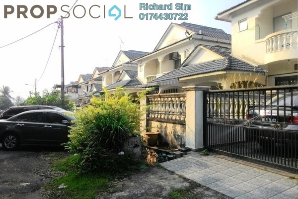 For Sale Terrace at Cheras Perdana, Cheras South Leasehold Semi Furnished 4R/3B 580k