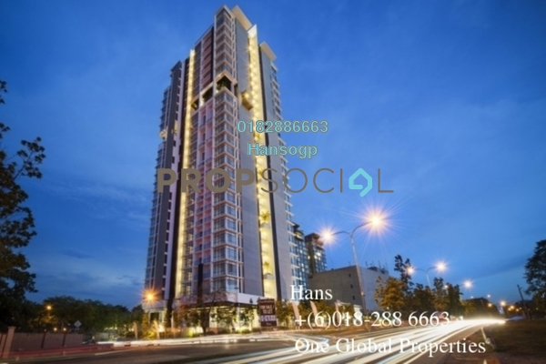 For Sale Condominium at Dua Menjalara, Bandar Menjalara Leasehold Semi Furnished 3R/4B 2.1m