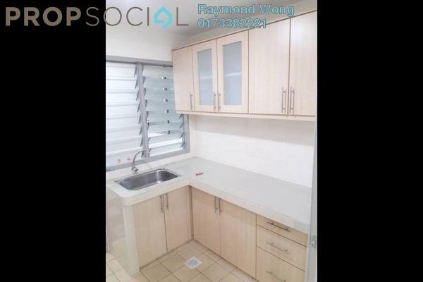 For Rent Apartment at Desa Sri Puteri Apartments, Desa Petaling Freehold Semi Furnished 3R/2B 1.1k