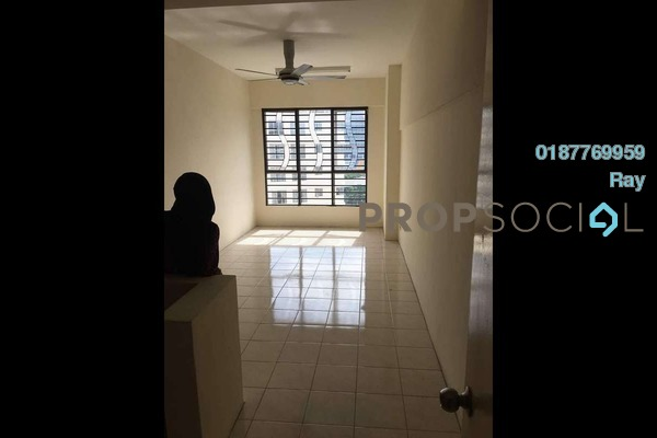 For Rent Condominium at Warisan Cityview, Cheras Freehold Semi Furnished 3R/2B 1.2k