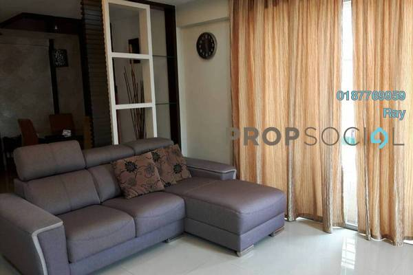 For Rent Condominium at Vista Tasik, Bandar Sri Permaisuri Freehold Fully Furnished 2R/2B 1.7k