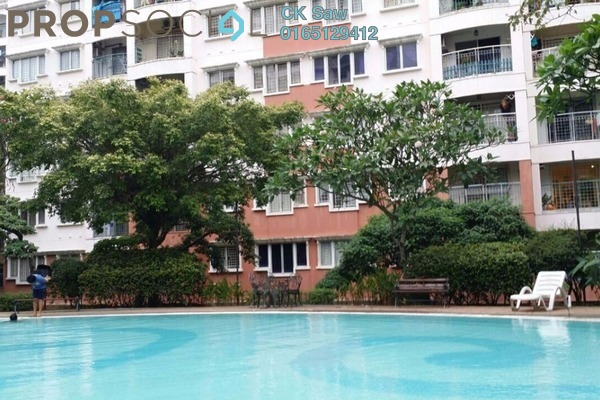 For Rent Apartment at Kenanga Apartment, Pusat Bandar Puchong Freehold Fully Furnished 3R/2B 1.4k