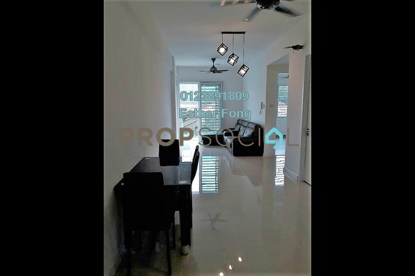 For Rent Condominium at Suria @ North Kiara, Segambut Freehold Semi Furnished 2R/2B 1.5k