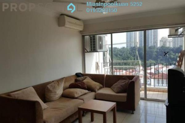 For Rent Condominium at Pantai Hillpark 5, Pantai Freehold Fully Furnished 3R/2B 1.9k