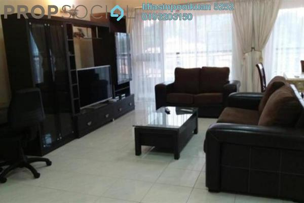For Rent Condominium at Seri Maya, Setiawangsa Freehold Fully Furnished 4R/3B 3k